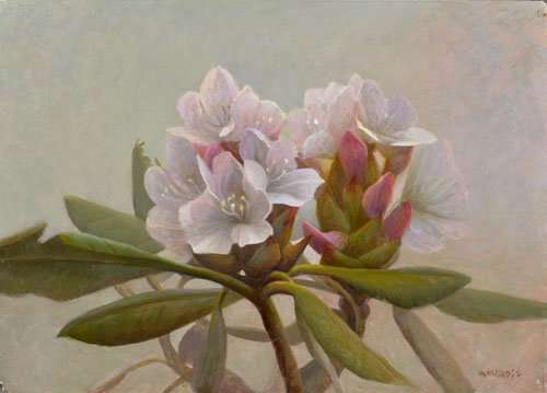 Appalachian Spring, egg tempera painting by Daniel Ambrose