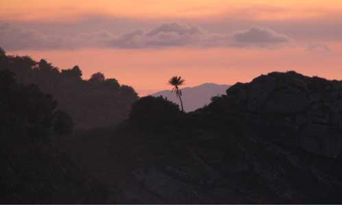 Photo: Antigua Sunset