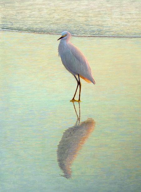 Repose, egg tempera painting. Daniel Ambrose