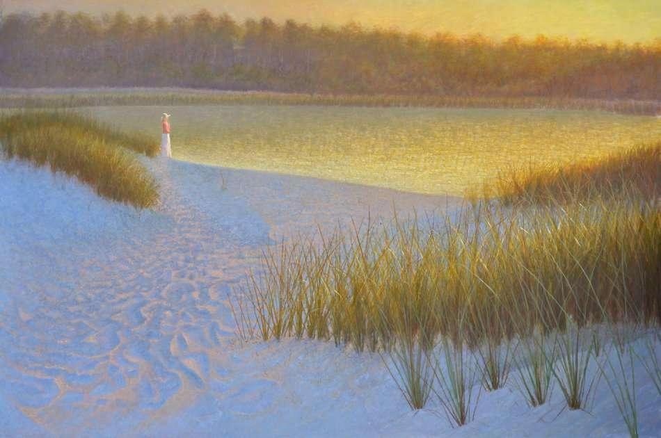 Between the Waters. Egg tempera. Daniel Ambrose