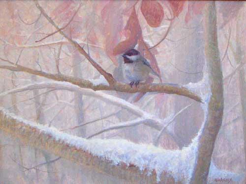 Early Snow, Chickadee