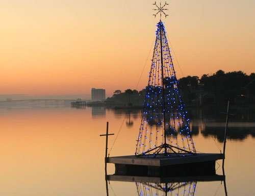 Floating Christmas Tree