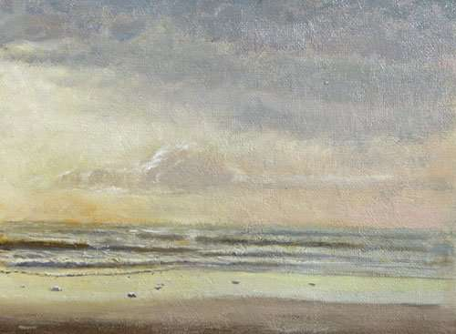 Reflections on Plein Air Seascape Painting