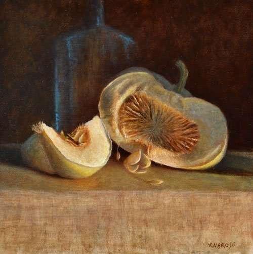 Pumpkin Still Life Painting
